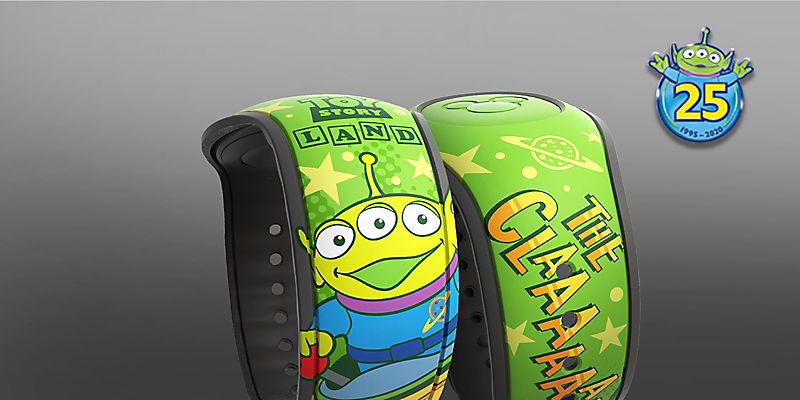 Toy Story Aliens Magic Band