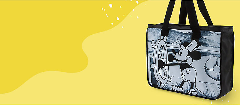 Steamboat Willie tote bag