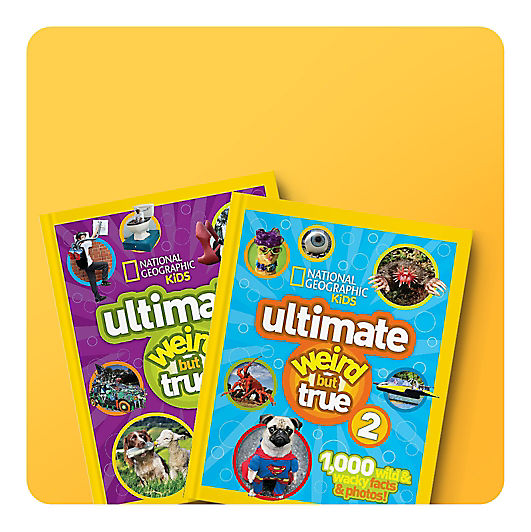 National Geographic Kids Ultimate Weird But True books