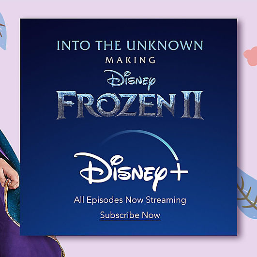Into the Unknown: Making Frozen 2 Disney+ logo