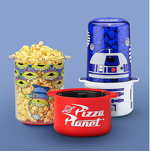 PIXAR and Star Wars popcorn makers
