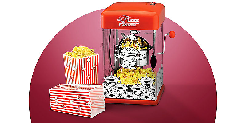 Pizza Planet popcorn machine