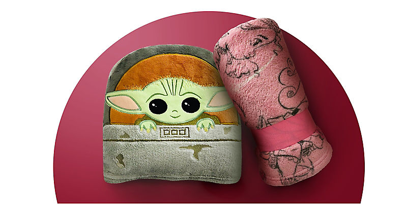 The Child and Animators' Collection fleece throws