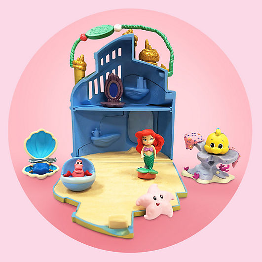 Disney Animators' Collection Littles The Little Mermaid Ariel Palace Play Set