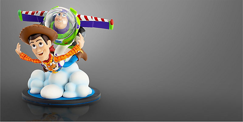 Woody and Buzz Lightyear figurine