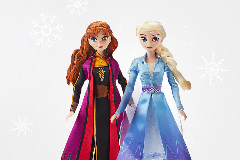 Dolls Starting at $15<br> with Code<b> DISNEYPAL</b>