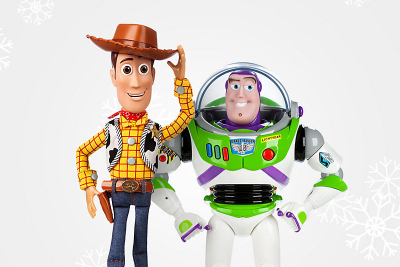 Talking Action Figures Starting at $21<br> with Code<b> DISNEYPAL</b>