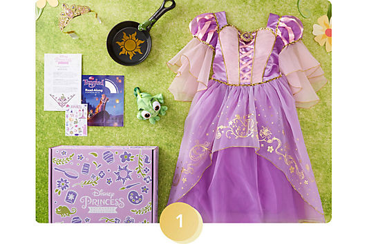 <h6>Revel in a treasure trove of goodies, complete with a costume, storybook and more.</h6>