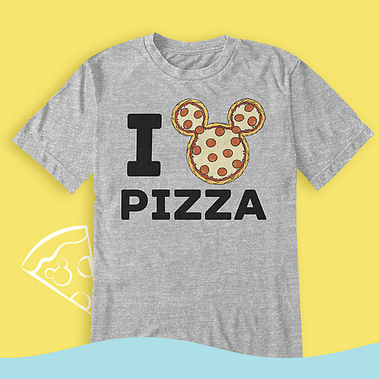 Mickey Mouse pizza T-shirt