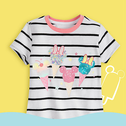 Minnie ice cream T-shirt