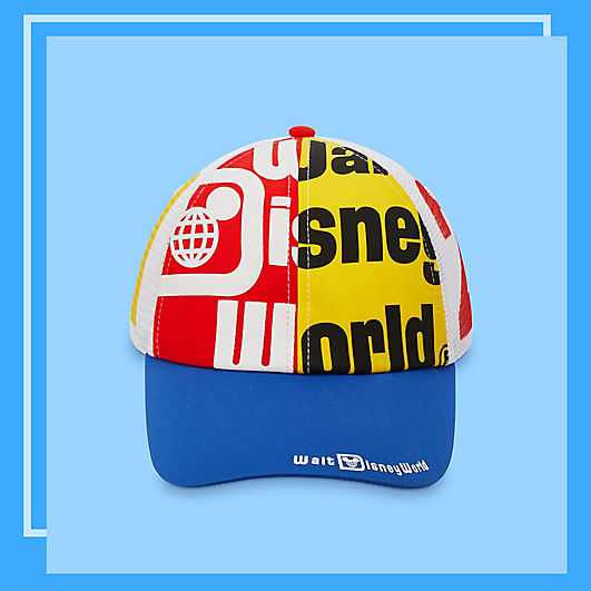 Baseball cap featuring Walt Disney World logos and artwork