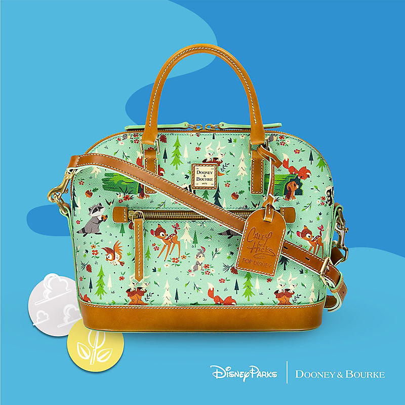 Dooney & Bourke purse with all-over Bambi print