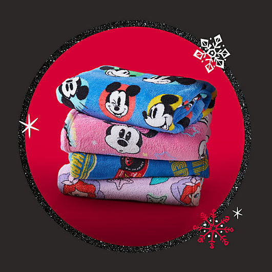 Background image of $12 Fleece Throws