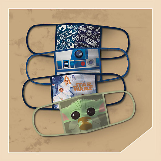 Background image of Star Wars Cloth Face Masks 4-Pack Set