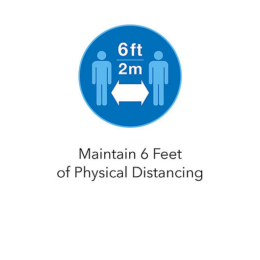 Maintain 6 Feet of Physical Distancing