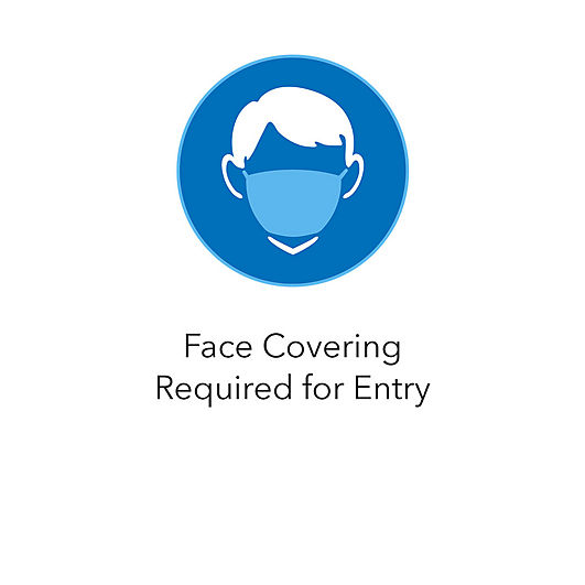 Face Covering Required for Entry