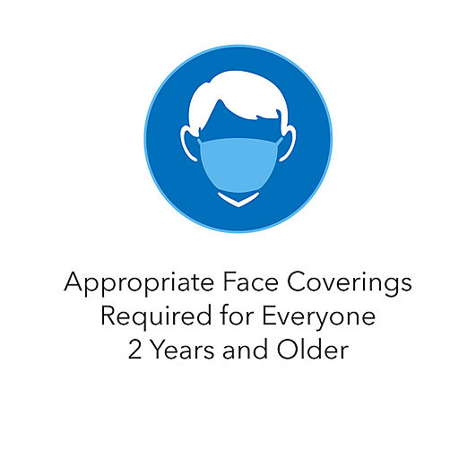 Appropriate Face Coverings Required for Everyone 2 Years and Older