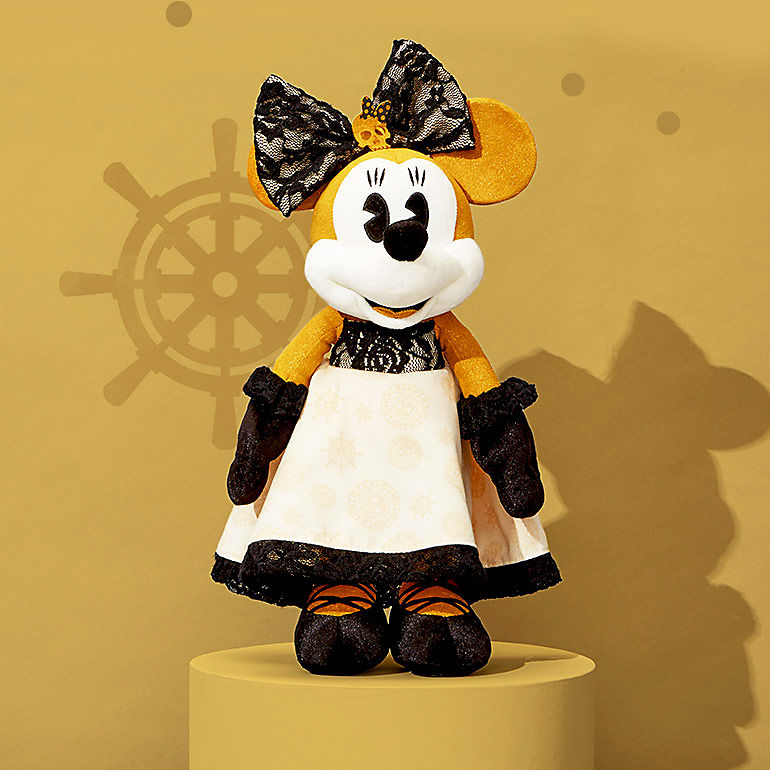 Minnie plush with Pirates of the Caribbean design