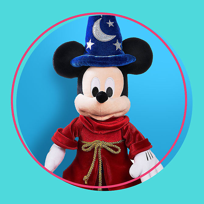 Ready. Set. Summer Sale sorcerer mickey mouse medium size plush