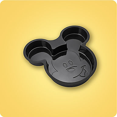 Mickey face pan mold