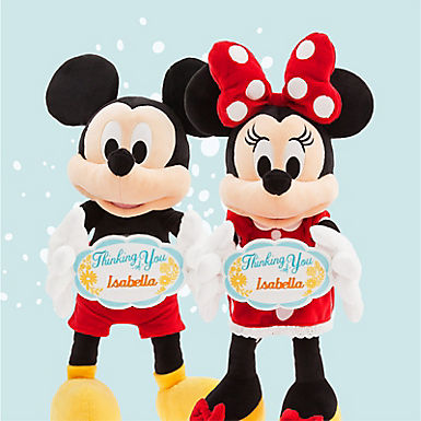 Mickey & Minnie plush
