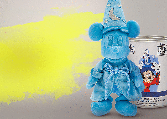 Colorful Sorcerer Mickey Mystery Plush