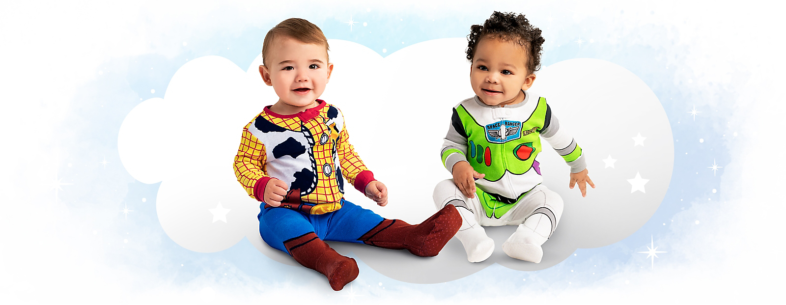 AmaZZZingly Cute The littlest sleepers create the <br> biggest smiles withBuzz, Woody & more.