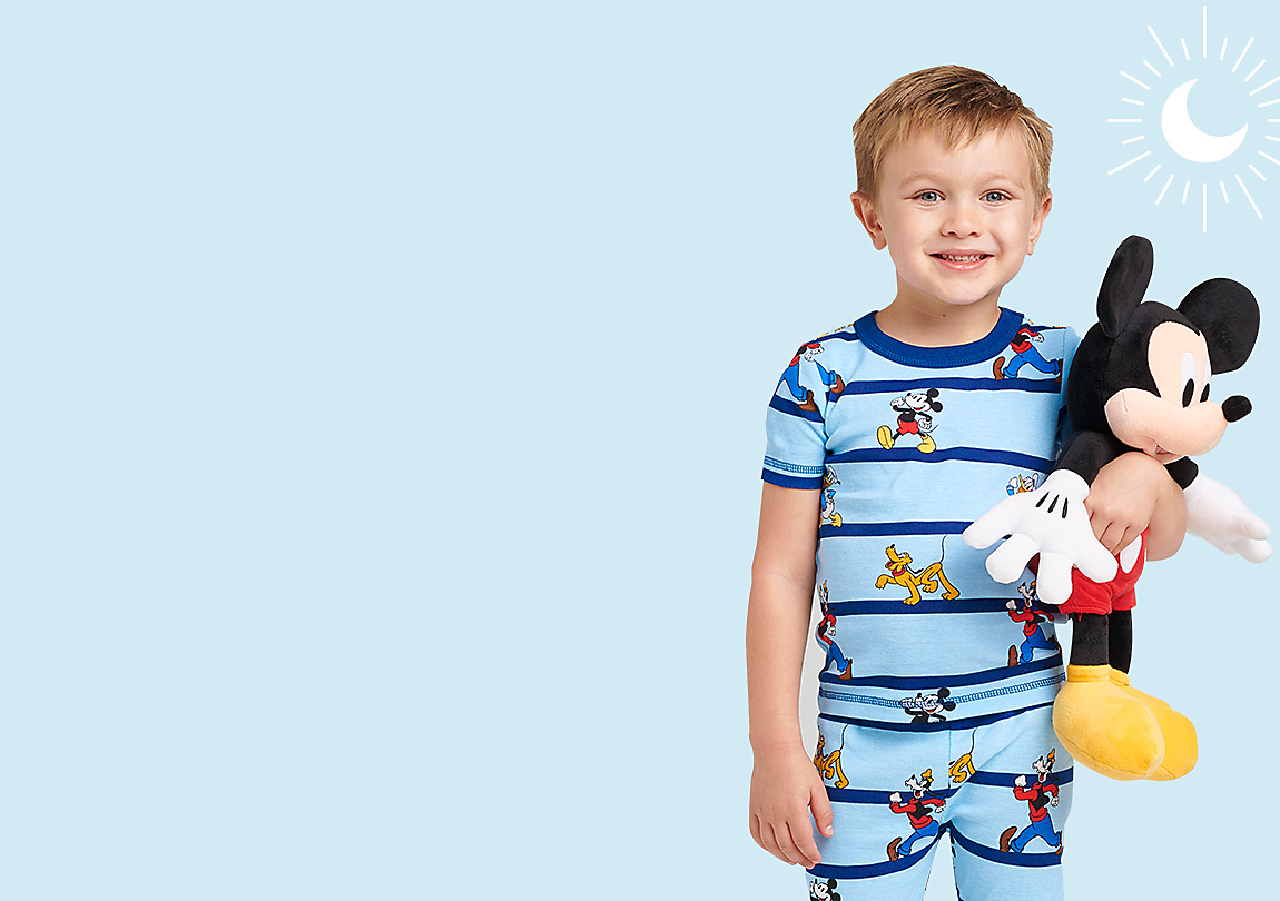 Blue Duckling Background Cartoon Painting Child Short Sleeve Fashion T-Shirt of Boys and Girls