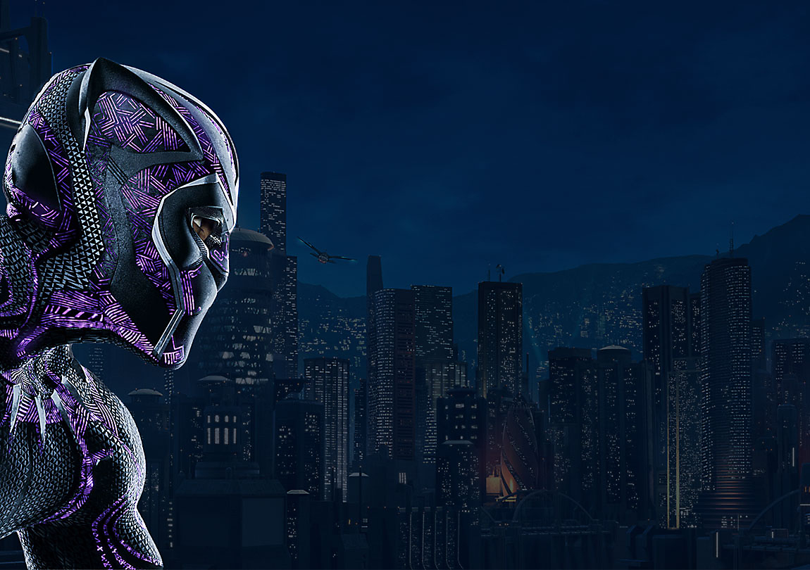 Background image of Black Panther