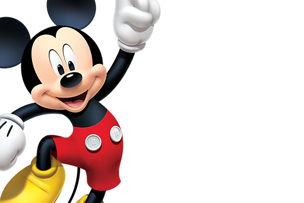 Background image of Mickey Mouse