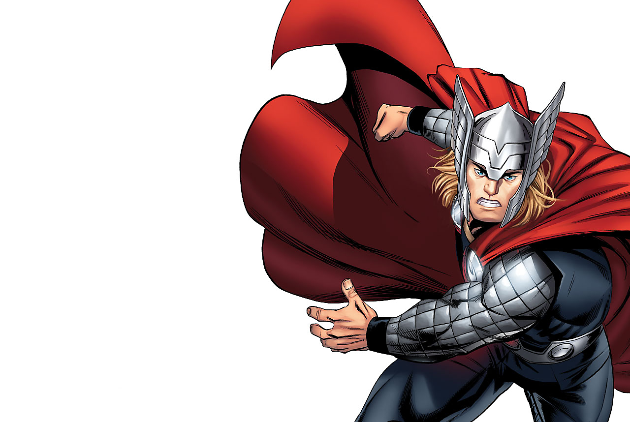 Background image of Thor