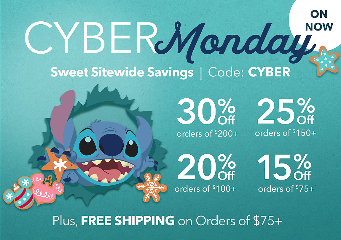ON NOW - CYBER MONDAY
