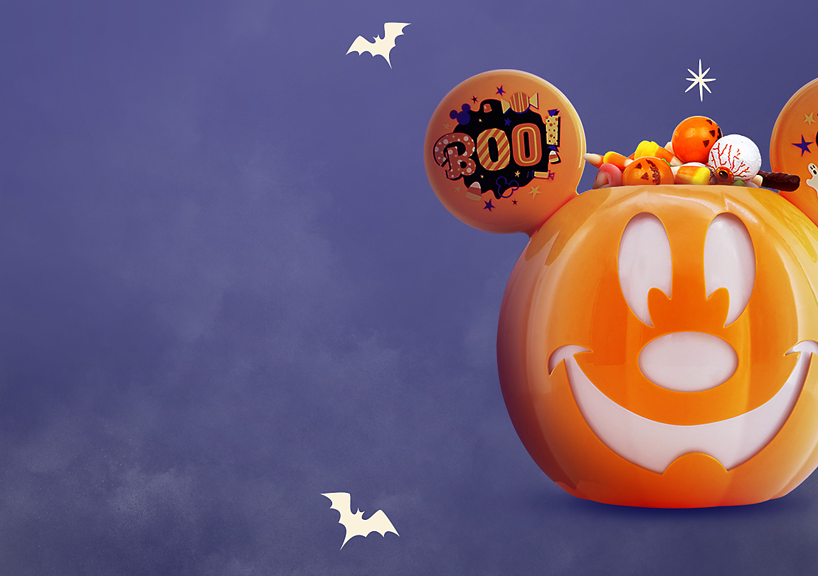 Background image of $16 Mickey Mouse Halloween Candy Bowl with Any Purchase