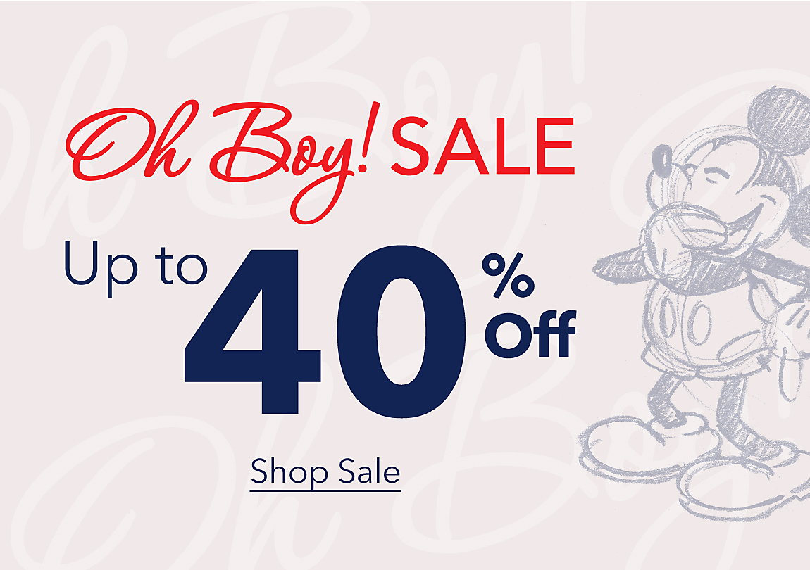 Oh Boy Sale Up to 40% Off Shop Sale