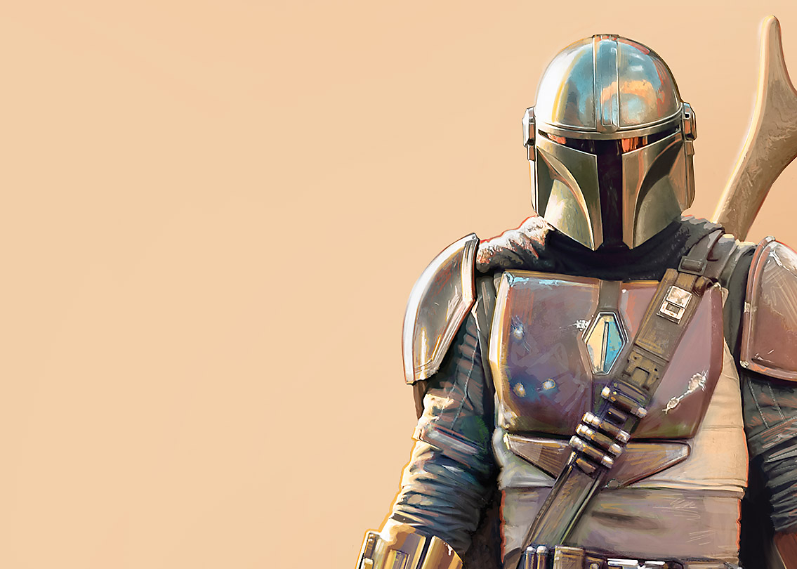 Background image of The Mandalorian