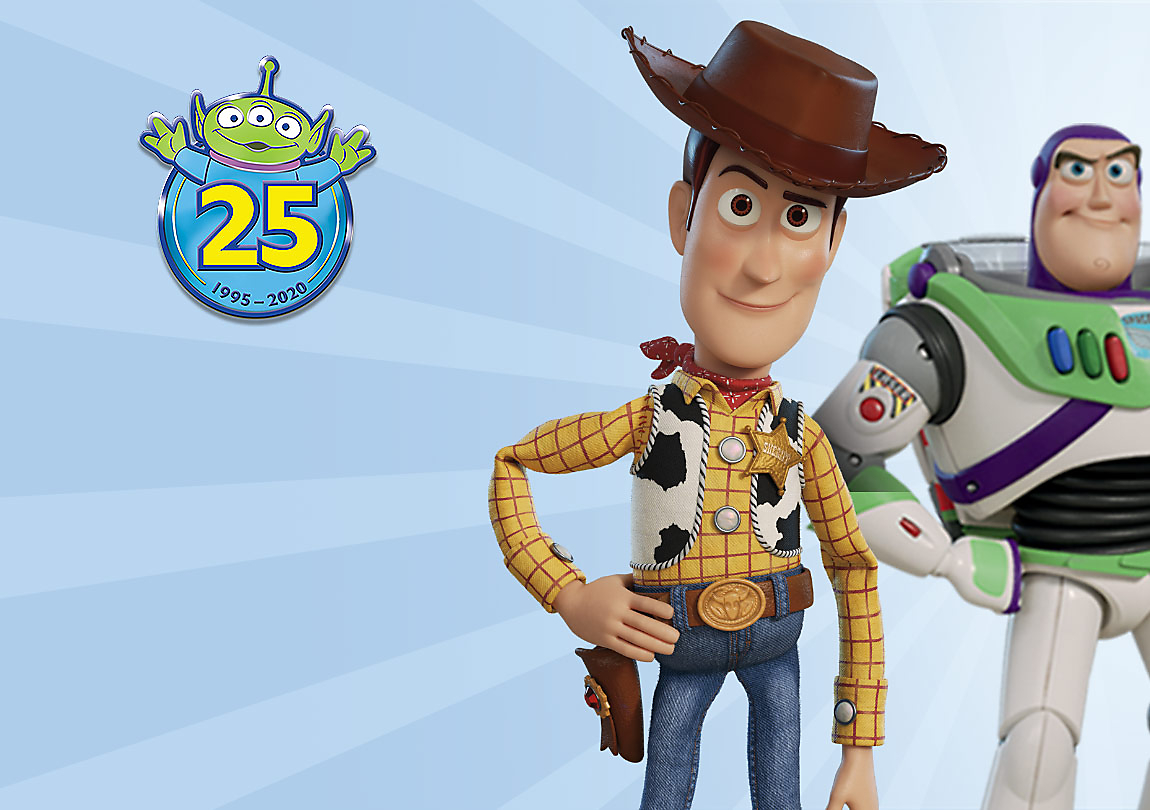 Background image of Toy Story 25th Anniversary Collection