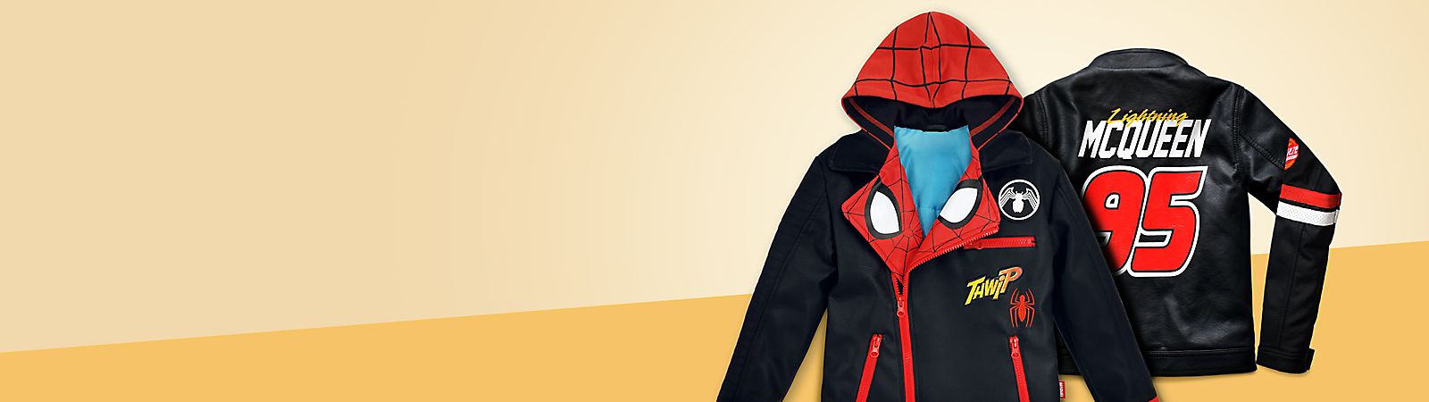 Boys' Clothing Made for adventure! We've got character fun T-shirts, jackets, outfits & more.
