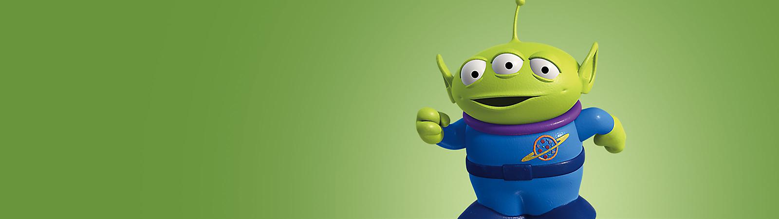 Classic Alien Little Green Men Toy