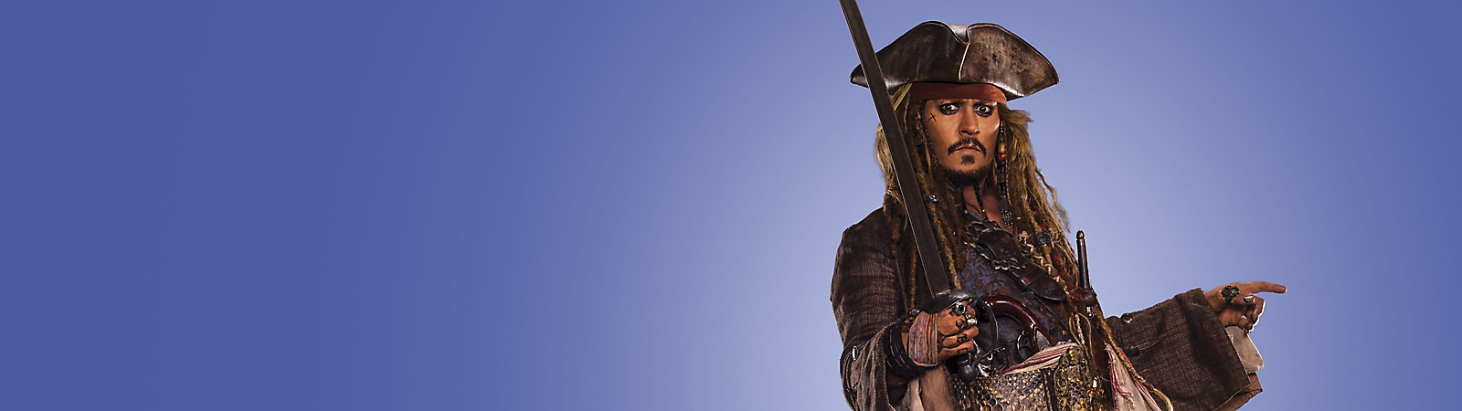 Background image of Captain Jack Sparrow