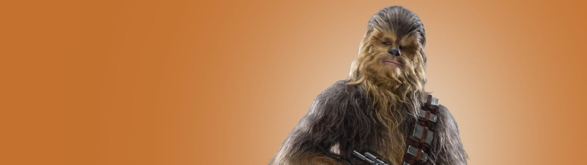 Background image of Chewbacca