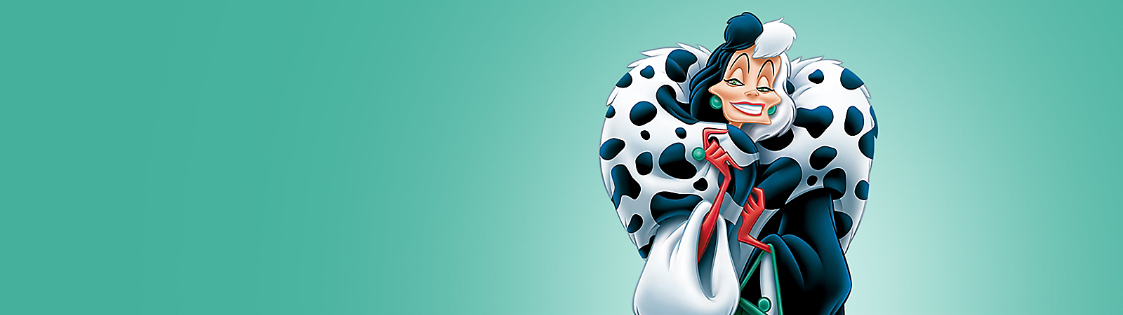 Background image of Cruella de Vil