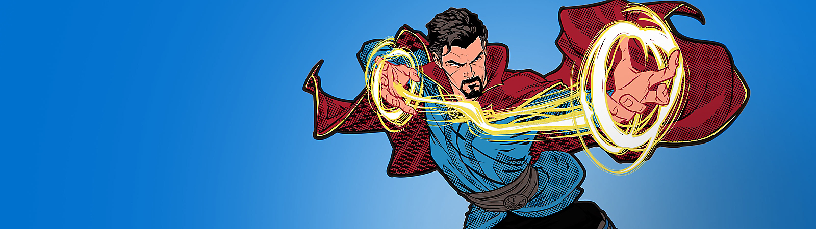 Background image of Doctor Strange