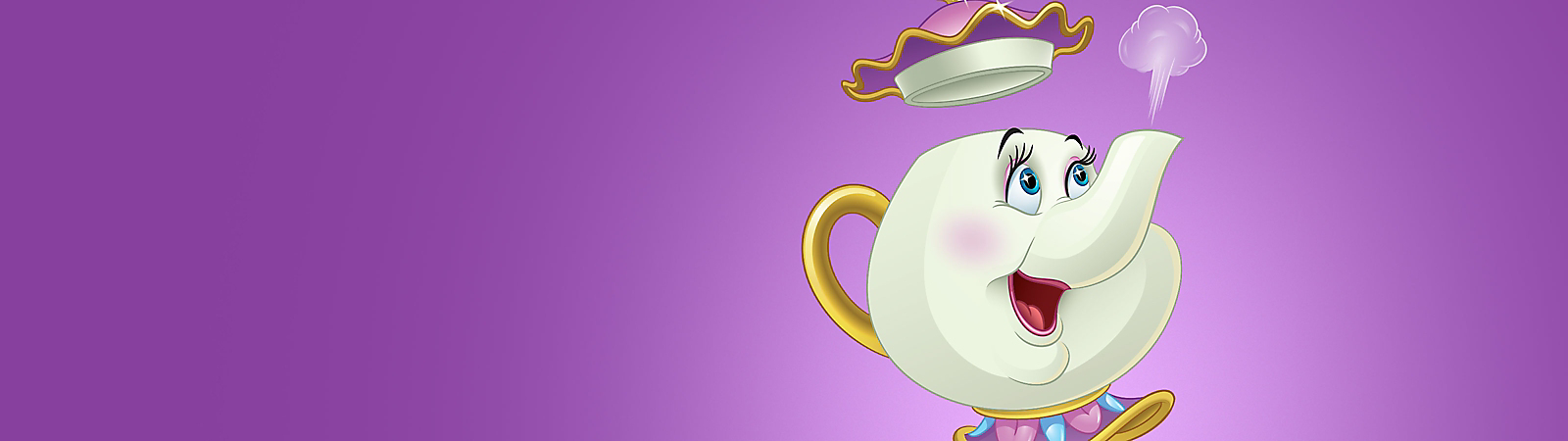 Background image of Mrs. Potts