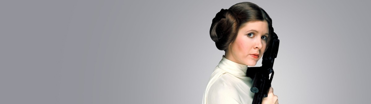 Background image of Princess Leia