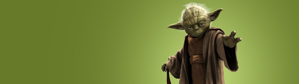 Background image of Yoda