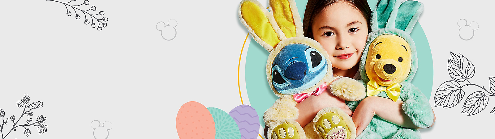 Background image of $15 Easter Bunny Plush