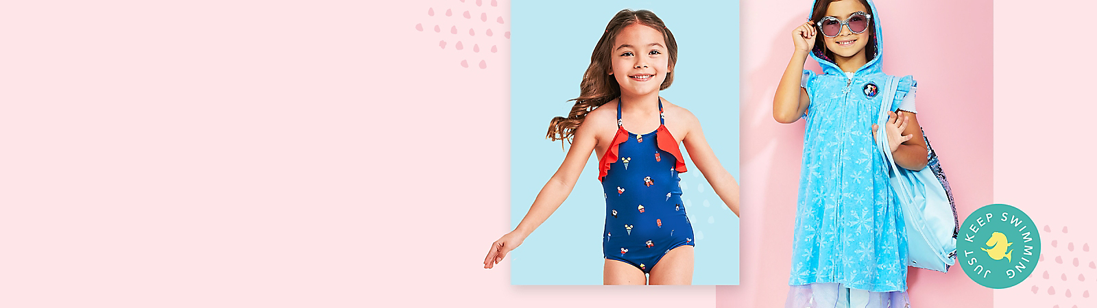 Baby Girls Swimsuit Swimwear One Piece Toddler Kid Sequins Tutu Bathing Suit Rash Guard 1-5t