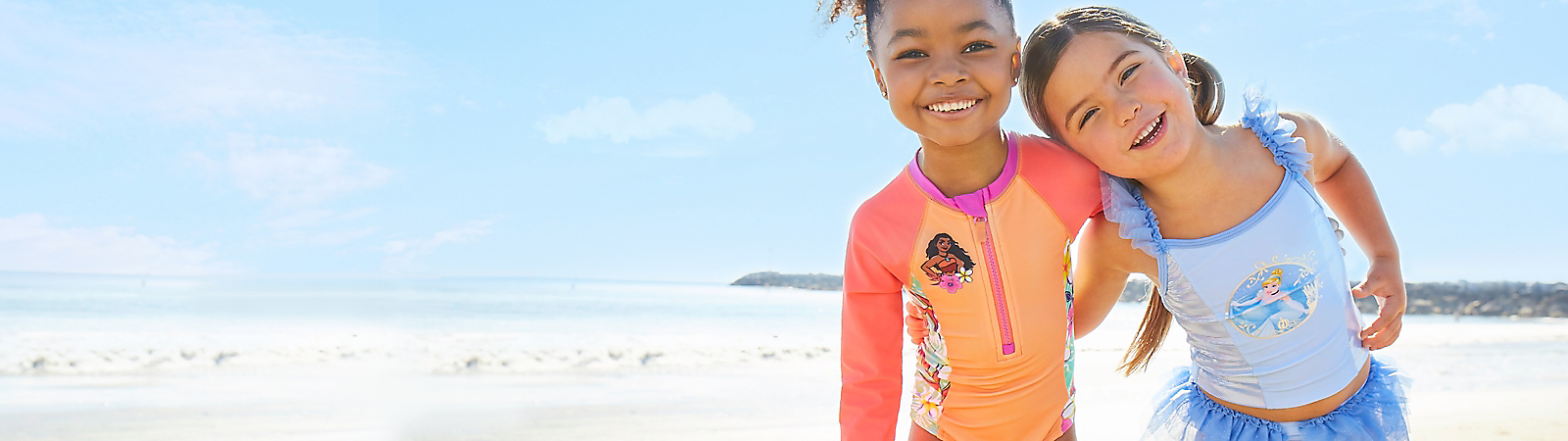 Girls' Swimwear They'll just wanna have sun in our must-have swimsuits, cover-ups and more! Our swim styles feature UPF 50+ built-in UV protection.