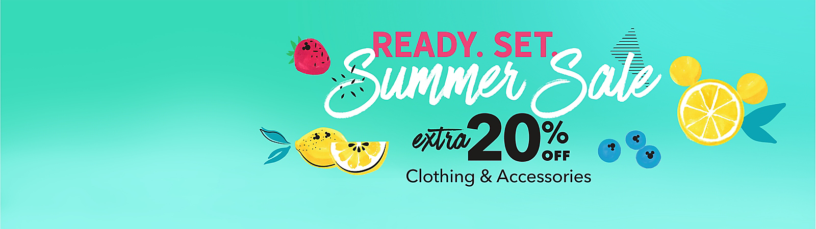 Ready. Set. Summer Sale