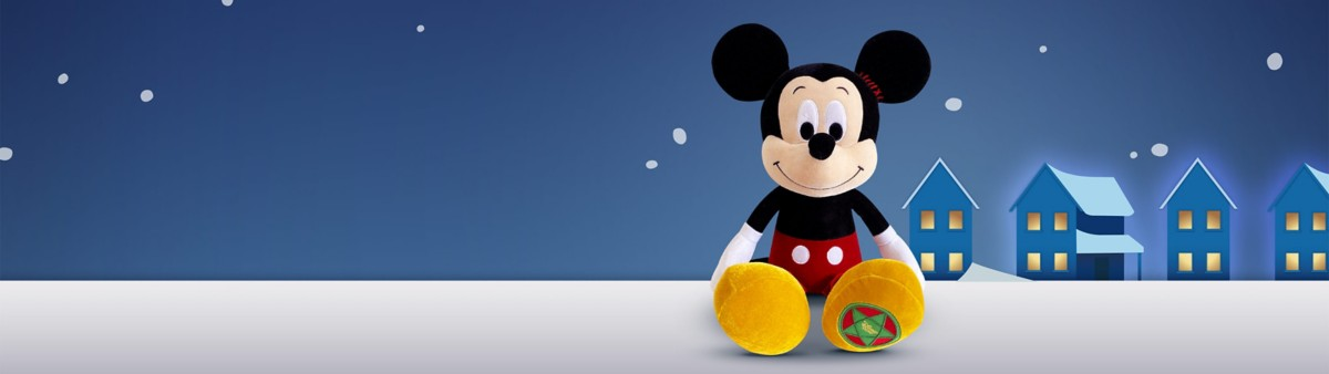 Background image of Mickey Vintage Plush